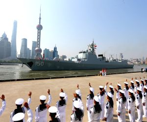 CHINA SHANGHAI NAVY FRIENDSHIP VISIT