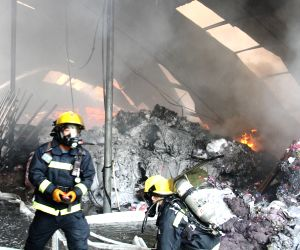 CHINA SHANGHAI FACTORY FIRE