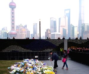 CHINA SHANGHAI STAMPEDE VICTIM MOURNING