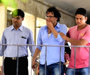 Pratyusha Banerjee's family at Siddharth Hospital