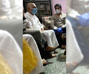 Free Photo: Shekhar Suman visits Sushant Singh Rajput's family in Patna