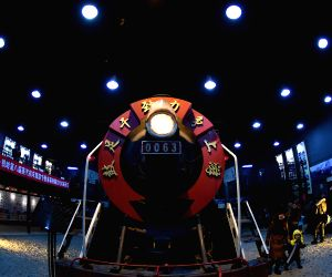 CHINA-LIAONING-STEAM LOCOMOTIVE FAIR