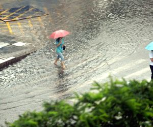 CHINA SHENYANG RAINSTORM ORANGE ALERT