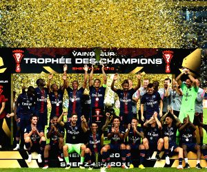 CHINA-SHENZHEN-SOCCER-FRENCH TROPHY OF CHAMPIONS