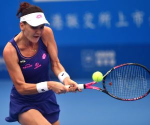 CHINA-SHENZHEN-TENNIS-WTA SHENZHEN OPEN