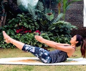 Shilpa Shetty's yoga tip to beat stress