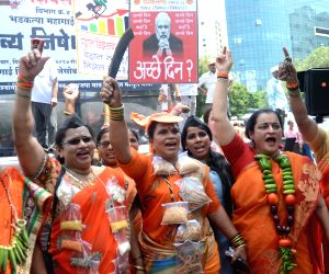 Shiv Sena's protest against petrol and diesel price hike