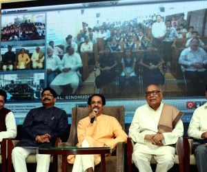Uddhav Thackeray during a programme