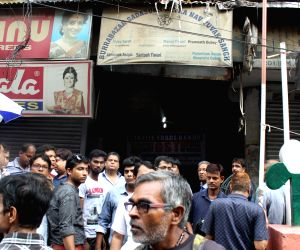 Protest against GST - Shops remain closed in Burrabazar