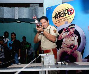 Shreyas Talpade promotes his new film 'Aage Se Right' in Mumbai.