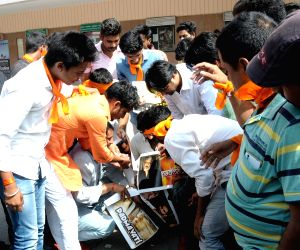 Karni Sena protests against Bhansali's film Padmavati