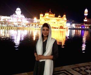 Shruti's visit to Golden Temple an 'unbelievable' experience