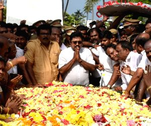 Sidelined AIADMK leader T.T.V.Dinakaran visits the memorial of late Jayalalithaa in Chennai, on Dec 24, 2017. Dinakaran, who is contesting as an Independent candidate established an initial ...