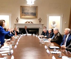 Signifying the deep political divisions in Washington, a new photo shows US House Speaker Nancy Pelosi confronting President Donald Trump at a reportedly explosive White House meeting. In the image, ...