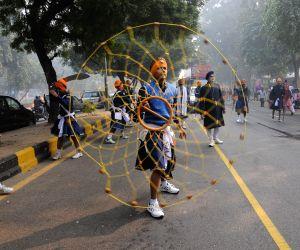 Nagar Kirtan' on 'Prakash Parv'  of  Guru Gobind Singh