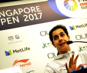 SINGAPORE BADMINTON SINGAPORE OPEN PRESS CONFERENCE