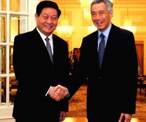 SINGAPORE CHINA ZHAO ZHENGYONG VISIT