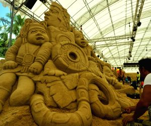 SINGAPORE-SENTOSA-SANDSATION