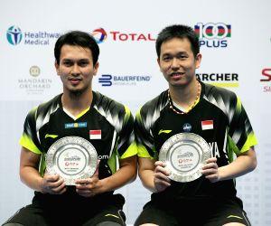 SINGAPORE BADMINTON SINGAPORE OPEN MEN'S DOUBLE FINAL
