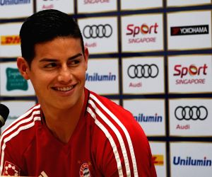 James arrives in Colombia, set to join national squad in Bogota