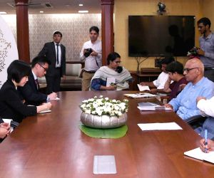Singapore's Foreign Affairs Minister meets Dharmendra Pradhan