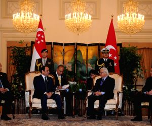 SINGAPORE-EGYPT-PRESIDENT-MEETING