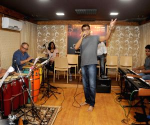 Amit Kumar during a jam session