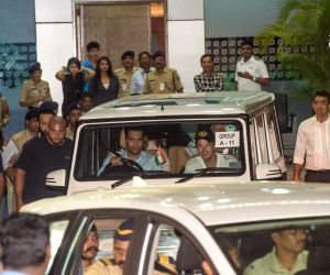 Justin Bieber arrives at Mumbai Airport