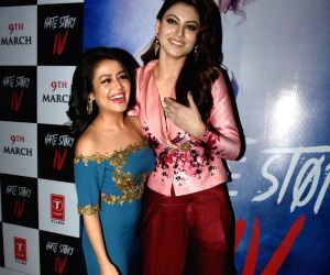 "Song launch of film ""Hate Story IV"" - Neha Kakkar and  Urvashi Rautela"