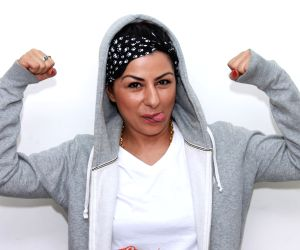Hard Kaur at IANS office