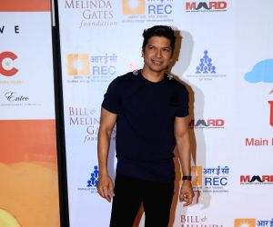 "Singer Shaan at ""Lalkaar- Main Kuch Bhi Kar Sakti Hoon"" concert organised by Farhan Akhtar in Mumbai on Feb 14, 2019."