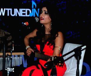 Shibani Kashyap during a programme
