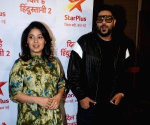 "Media interaction of show ""Dil Hai Hindustani 2"" - Sunidhi Chauhan and Badshah"