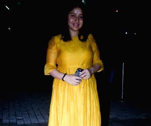 "Special Screening of film ""Sanju"" - Sunidhi Chauhan"