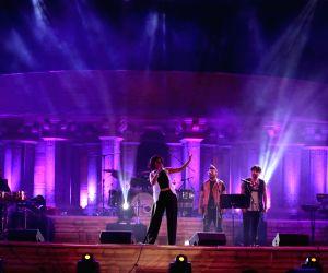 Sunidhi Chauhan performs at Madhya Pradesh's foundation day programme