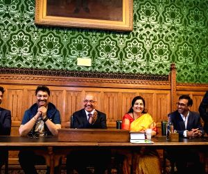 Kumar Sanu, Anuradha Paudwal honoured at UK Houses of Parliament