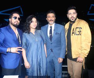 """Dance Deewane"""" show - Mika Singh, Sunidhi Chauhan, Anil Kapoor and Badshah"""