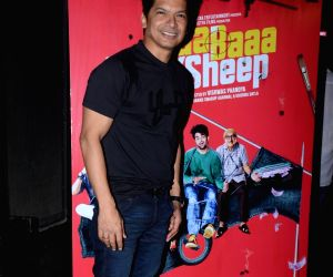 """Singers Shaan at the music launch of his upcoming film """"Baa Baa Black Sheep"""" in Mumbai on March 1, 2018."""