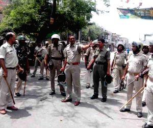 Road accident deaths triggers violent protest