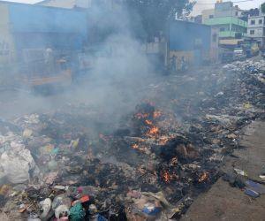 World Environment Day - Garbage burning