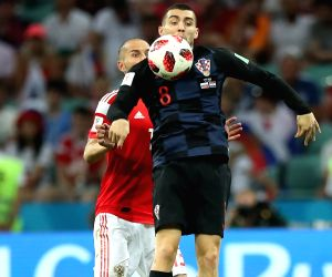 RUSSIA-SOCHI-2018 WORLD CUP-QUARTERFINAL-RUSSIA VS CROATIA