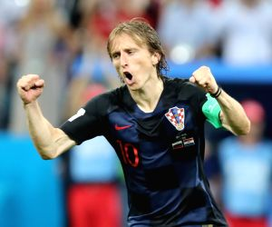 Luka Modric named best male player at FIFA awards