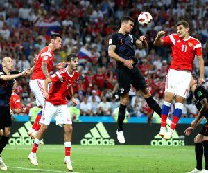 Croatia pip Russia to enter FIFA World Cup semis