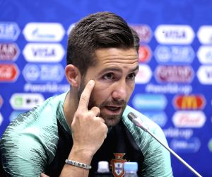 Portugal's Moutinho, Guerreiro miss practice ahead of clash with Iran