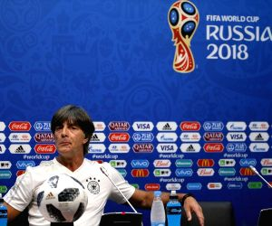 RUSSIA-SOCHI-2018 WORLD CUP-GERMANY-PRESS CONFERENCE