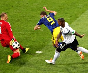 RUSSIA-SOCHI-2018 WORLD CUP-GROUP F-GERMANY VS SWEDEN