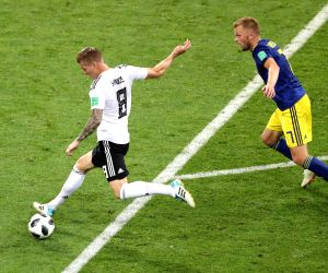 World Cup: Germany beat Sweden 2-1 to stay alive