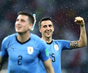 Uruguay beat Portugal to enter FIFA World Cup quarters