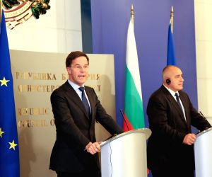 BULGARIA-SOFIA-DUTCH PM-PRESS CONFERENCE