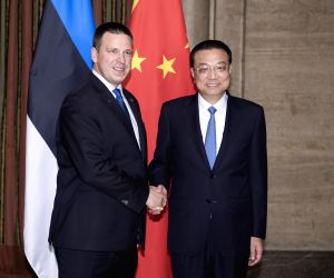 BULGARIA SOFIA LI KEQIANG ESTONIAN PM MEETING
